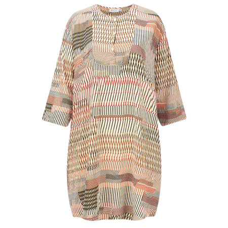 Masai Clothing Genna Print Tunic  - Pink