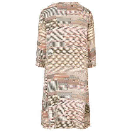 Masai Clothing Nasira Print Dress  - Pink