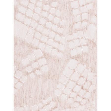 Grizas Silk Devore Check Scarf - Pale Pink