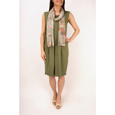 Masai Clothing Hadas Fitted Tunic Dress - Green