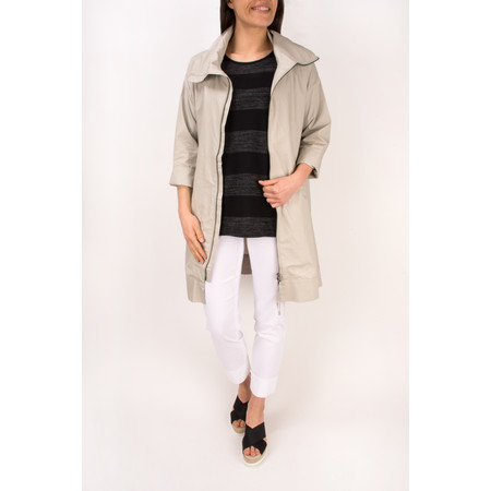 Masai Clothing Tanna Oversize Coat - Grey