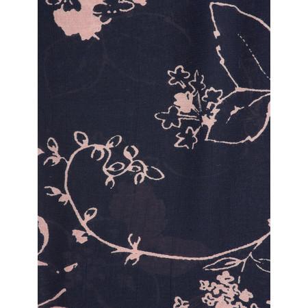 Masai Clothing Floral Print Along Scarf - Blue