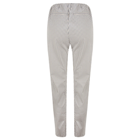 Masai Clothing Gingham Pearl Trousers - Grey