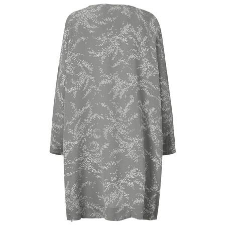 Masai Clothing Geneva Print Oversize Tunic - Grey