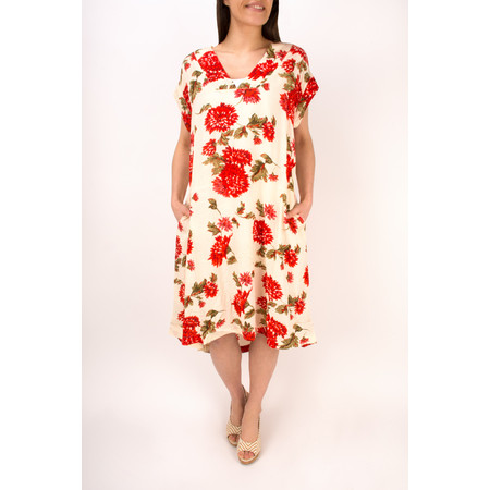Masai Clothing Nava Floral Print Dress - Pink
