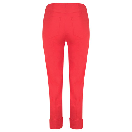 Robell Trousers Bella 7/8 Cropped Trouser  - Orange