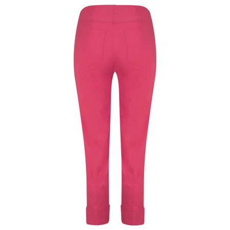 Robell Trousers Bella 7/8 Cropped Trouser  - Magenta