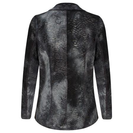 Lauren Vidal Textured Belo Jacket - Blue