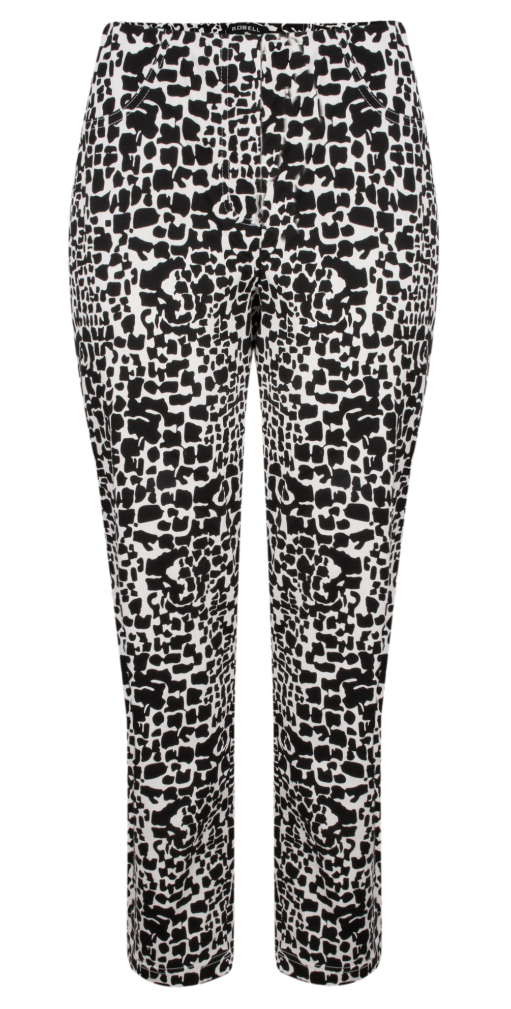Bella 7/8 Animal Print Trousers main image