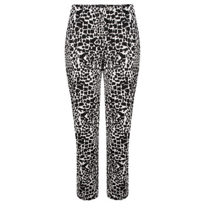 Robell Trousers Bella 7/8 Animal Print Trousers