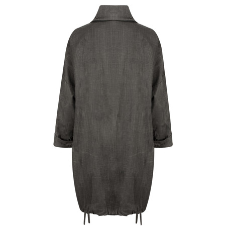 Masai Clothing Tatiana Oversize Coat - Black