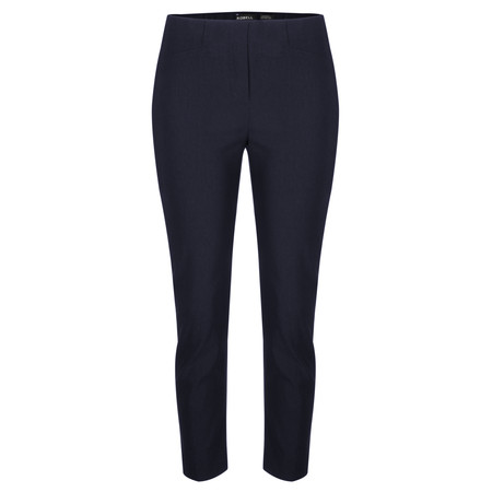 Robell  Rose 09 7/8 Narrow Cropped Trouser - Blue