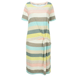 Sandwich Clothing Striped Waist Detail Jersey Dress