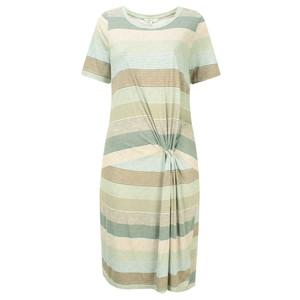 Sandwich Clothing Striped Waist Detail Jersey Dress