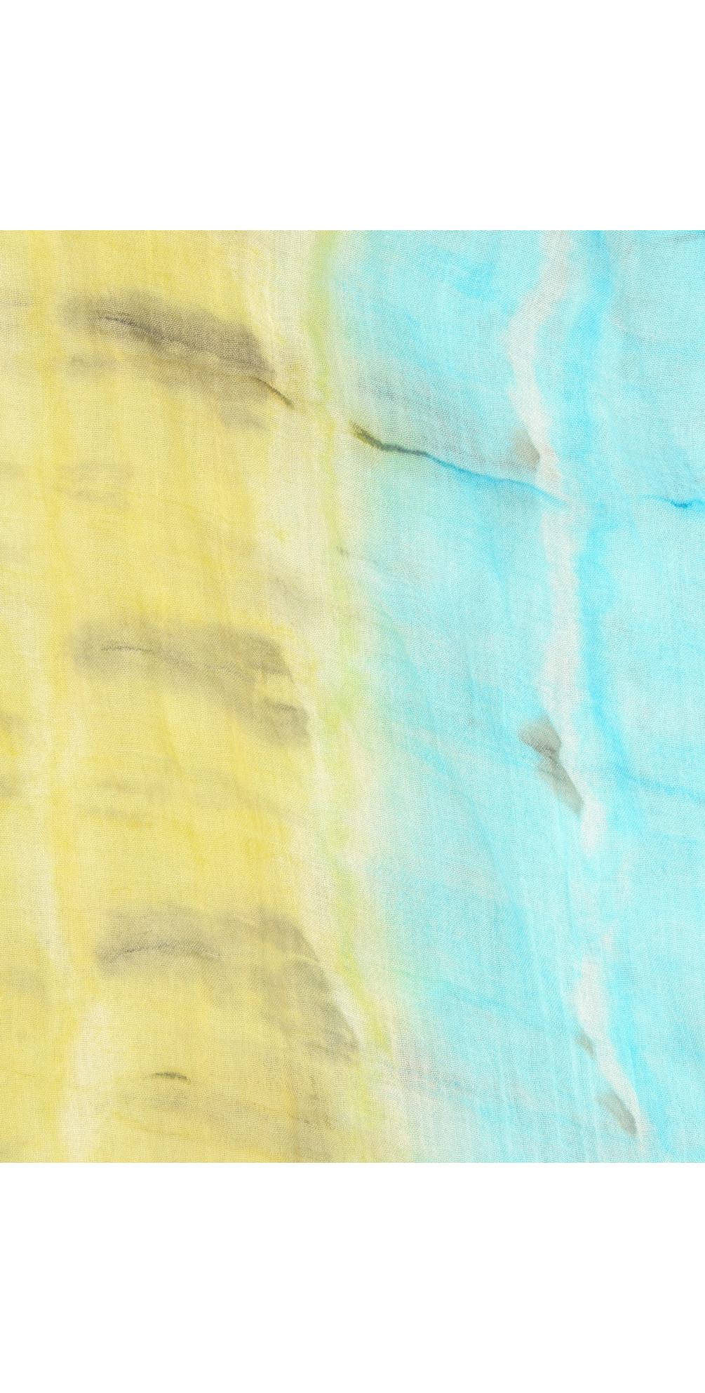 Two Tone Tie Dye Scarf main image