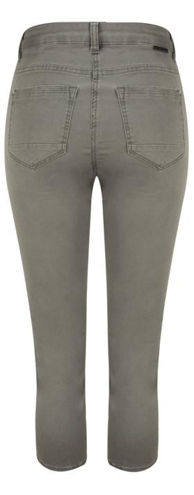 Sandwich Clothing High Waist Skinny Stretch Casual Trouser Smoke Grey