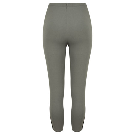 Sandwich Clothing Jersey Button Detail Legging  - Grey
