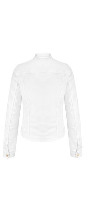 Sandwich Clothing Denim Jacket White Denim