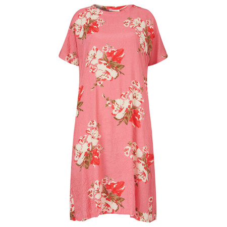 Masai Clothing Olivia Print Oversize Dress  - Pink