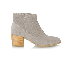 Tamaris  Textured Suede Ankle Boot