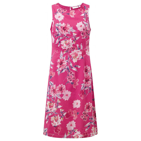 Adini Giselle Print Giselle Dress - Pink