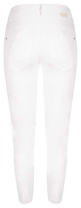 Sandwich Clothing High Waist Stretch 7/8 Casual Trousers Pure White