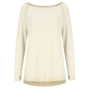 Sandwich Clothing Distressed Dyed Cotton Jumper