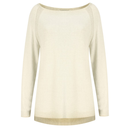 Sandwich Clothing Distressed Dyed Cotton Jumper  - Beige