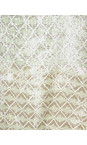 Sandwich Clothing Washed Jade Diamond Check Longline Tunic