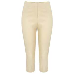 Sandwich Clothing Stretch Cropped Casual Trouser