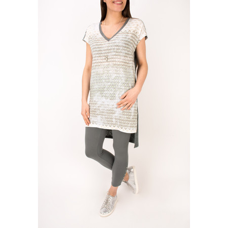 Sandwich Clothing Diamond Check Longline Tunic - Green