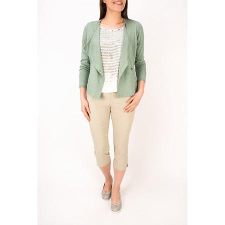 Sandwich Clothing Cotton Slub Jersey Cardigan - Green