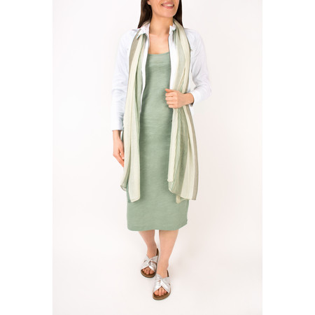 Sandwich Clothing Slub Jersey Dress With Pocket - Green