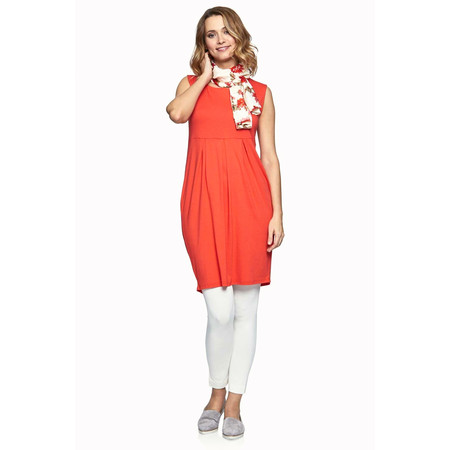 Masai Clothing Hadas Fitted Tunic Dress - Poppy