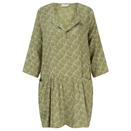 Masai Clothing Gabriella Print Tunic - Green
