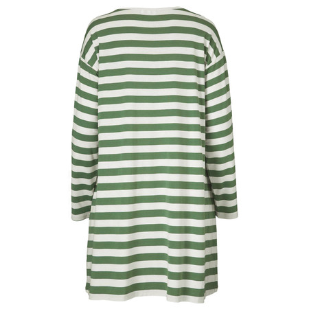 Masai Clothing Dilas Stripe Tunic Top - Green