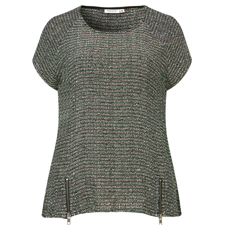 Masai Clothing Woven Daina Top - Green
