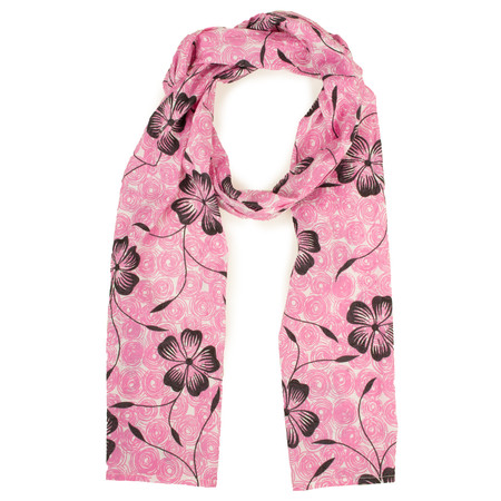 Masai Clothing Flower Along scarf - Pink
