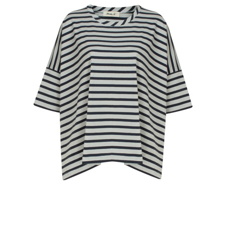 Mama B Beth Stripe Top - Blue
