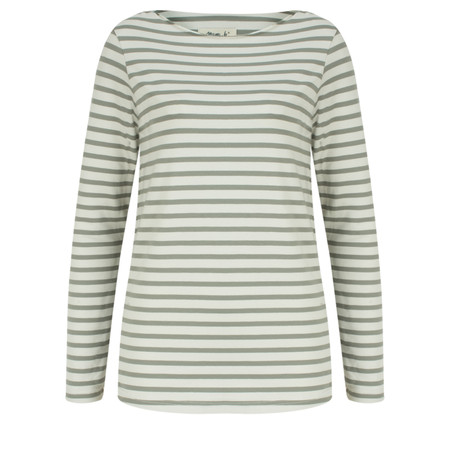 Mama B Gagia Stripe Top - Green