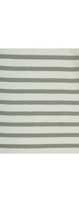 Mama B Gagia Stripe Top Stripe Sage