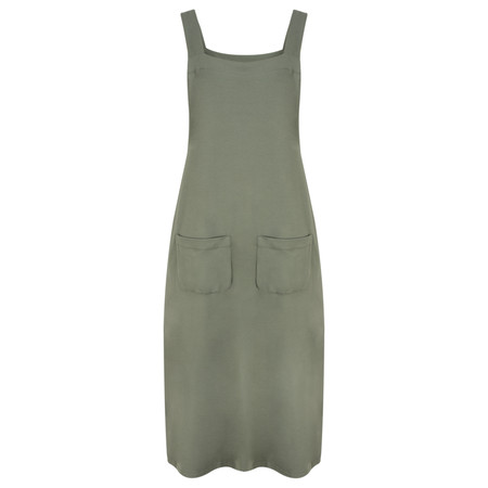 Mama B Matisse Pinafore Dress - Green