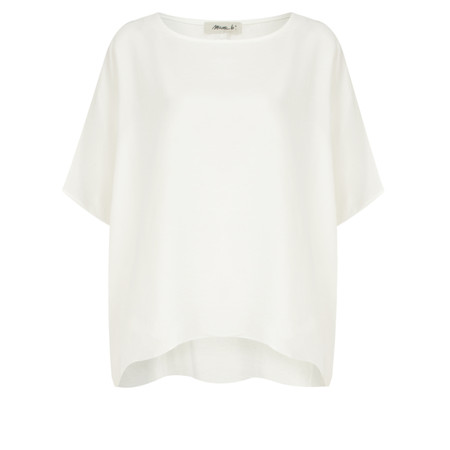 Mama B Oversized Ninfa Shirt - White