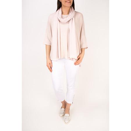 Mama B Beth Slub Linen Top - Pink