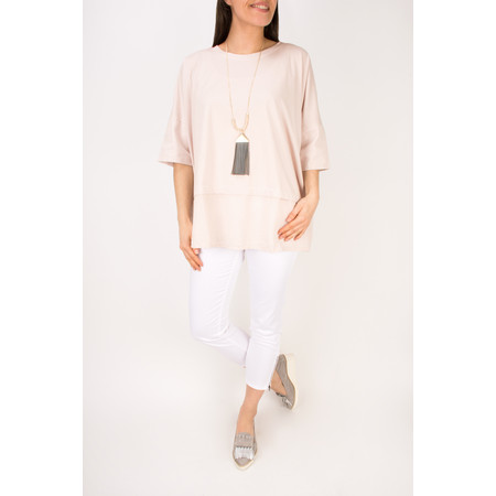 Mama B Oversized Lexi Top - Pink
