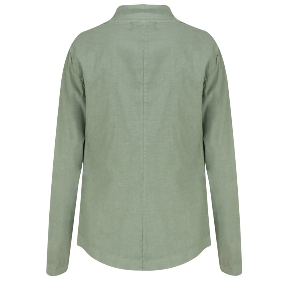 Mama B Paz Jacket Salvia-dark sage green