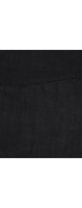 TOC  Bobbie Linen Asymmetric Top Navy