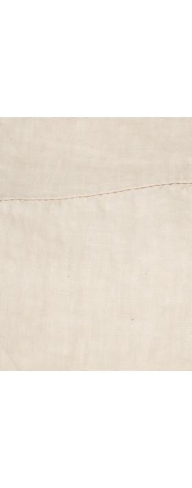 TOC  Bobbie Linen Asymmetric Top Stone