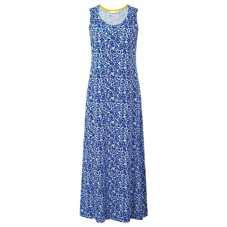 Adini South Sea Print Harbour Dress - Blue