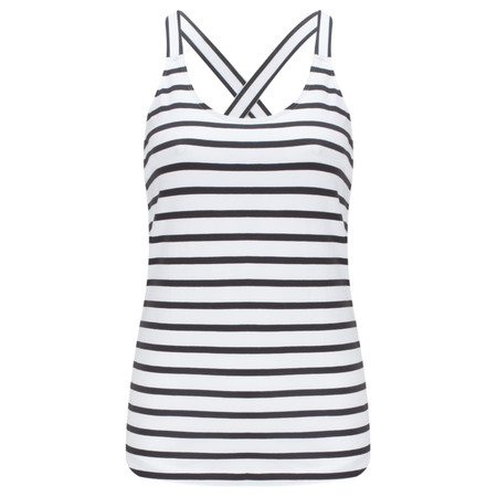 Sandwich Clothing Essentials Jersey Striped Vest - Black
